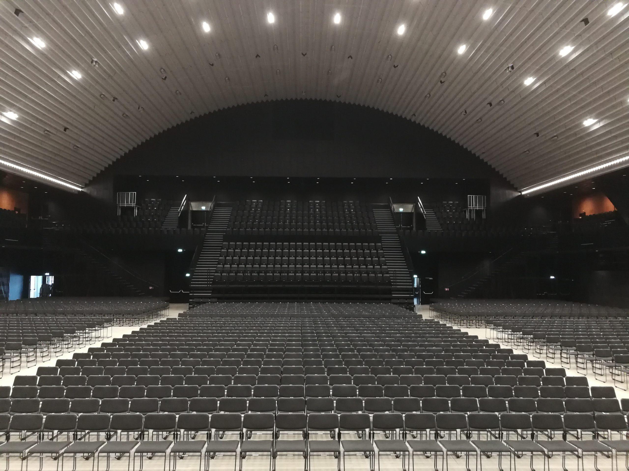 Scene, lyd og lys